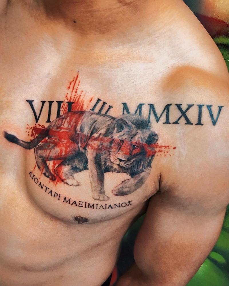 trash polka tattoos