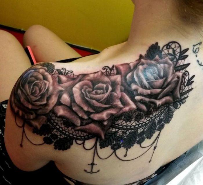 Kharis Amon Lace Tattoo 2