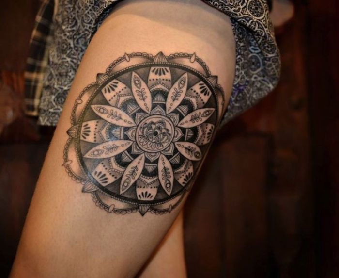 Lace Tattoo by Julie Hamilton 3
