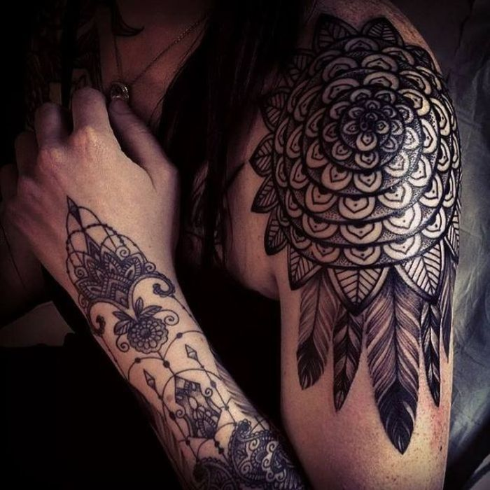 Celebrate Femininity With 50 Of The Most Beautiful Lace Tattoos You