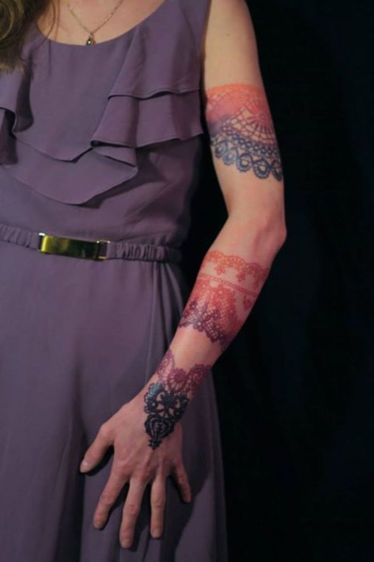 Tattoos For Women - Lace 50