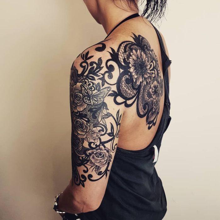 crazy lace tattoo