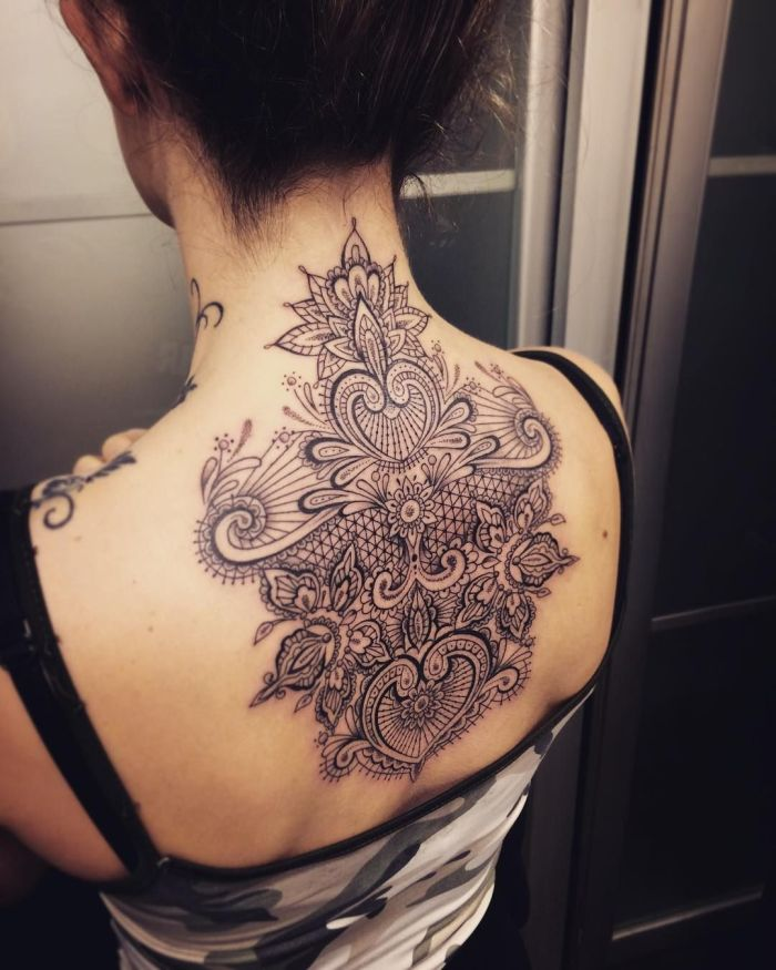 lace tattoos Marco Manzo