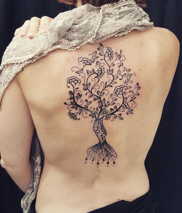 lace tattoos