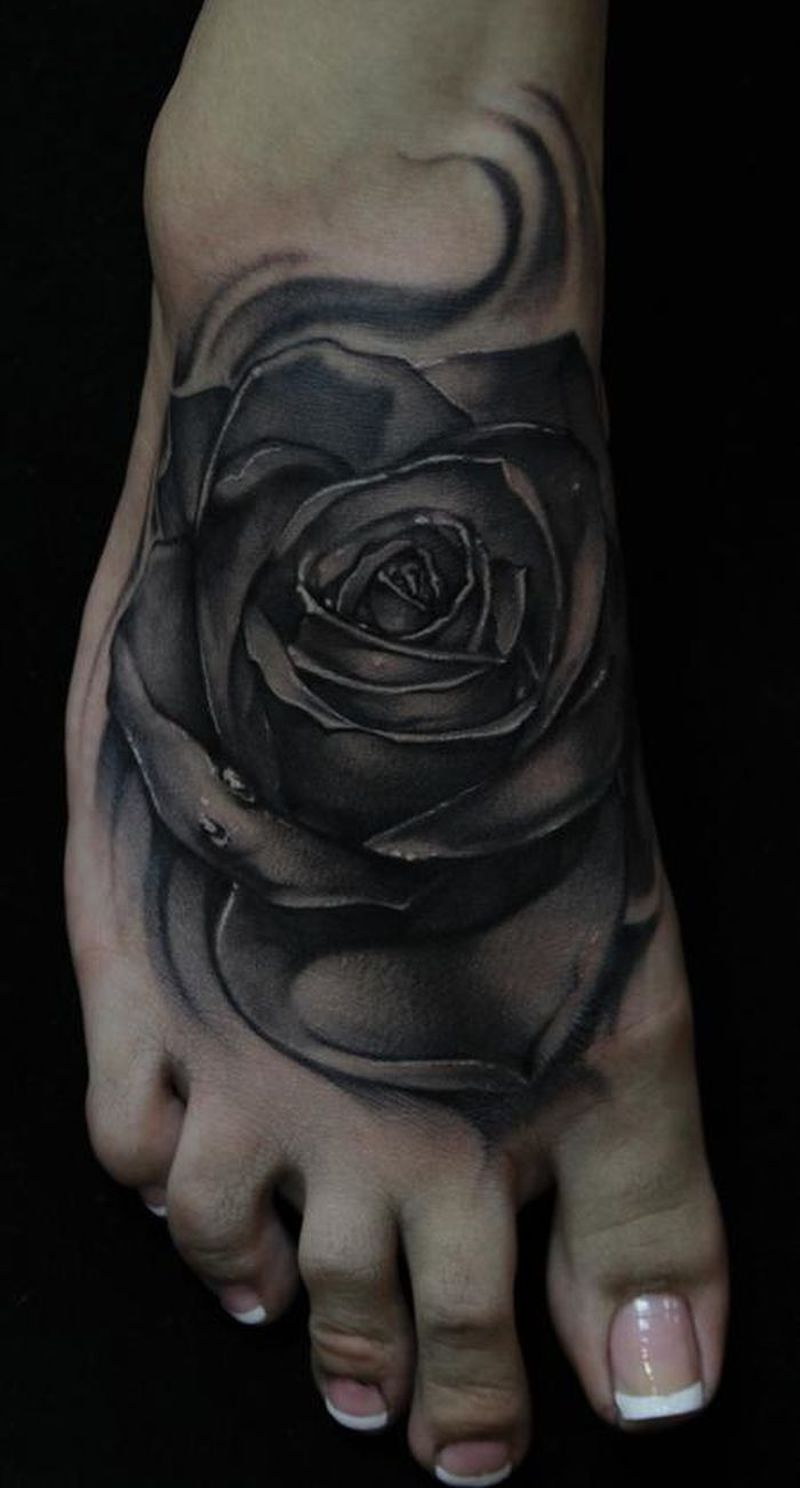 Black Rose Tattoo 5 Kickass Things