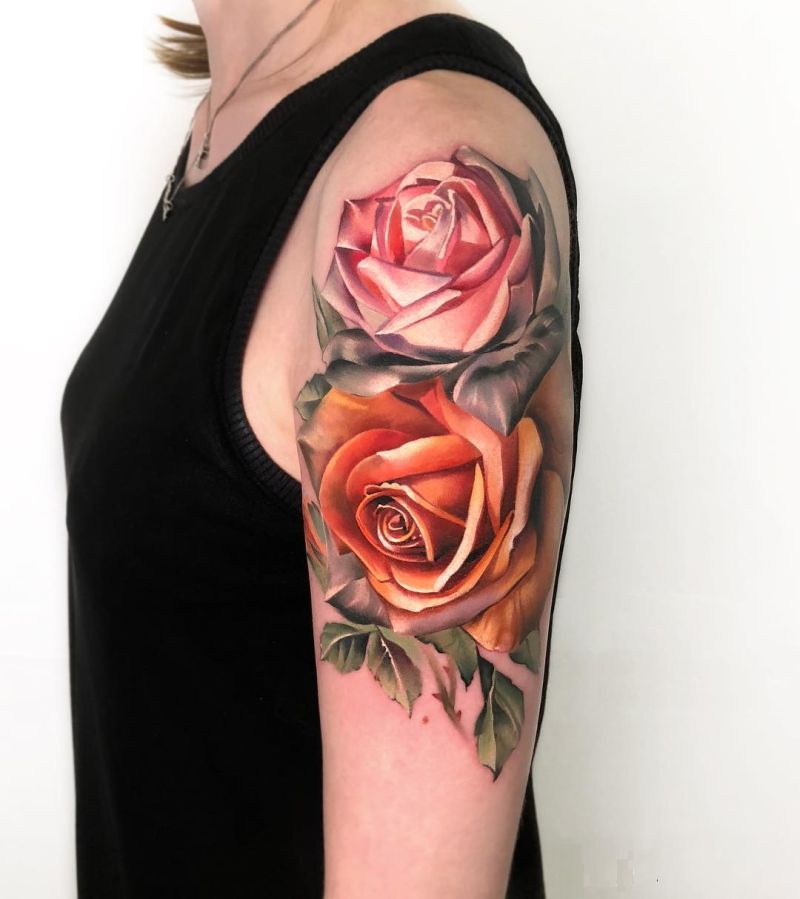 Feed Your Ink Addiction With 50 Of The Most Beautiful Rose