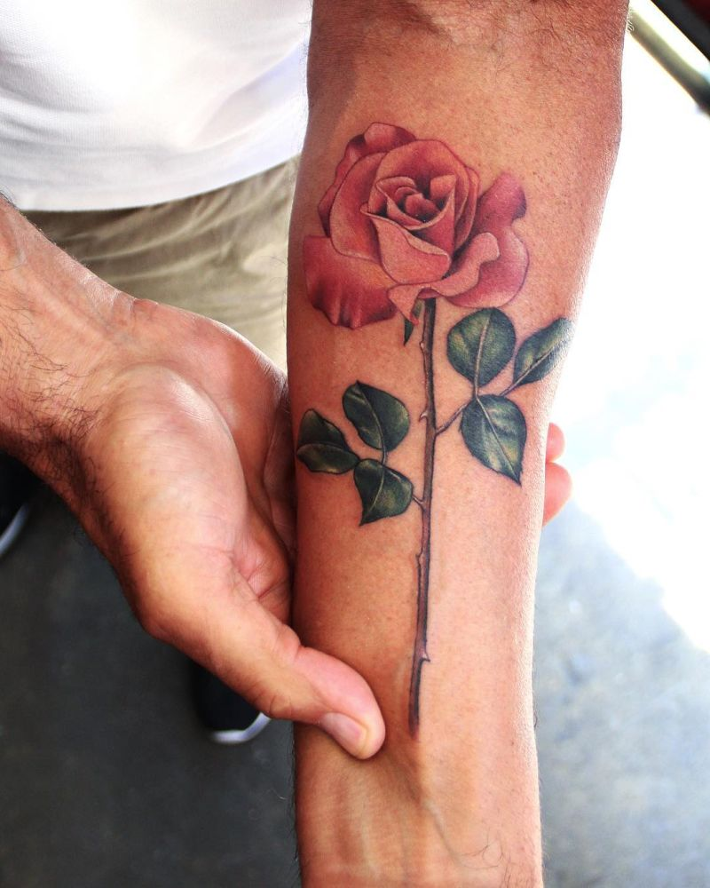awesome rose tattoos