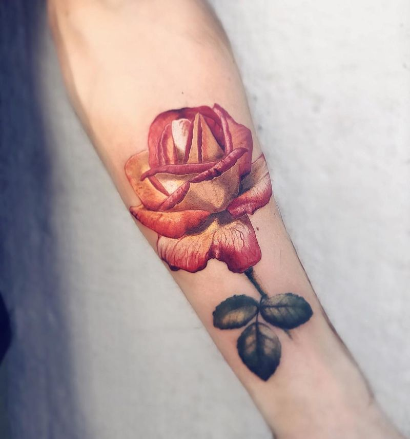 cool rose tattoo ideas