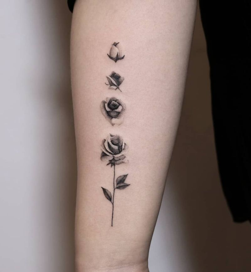 Rose Tattoo Ideas (4)
