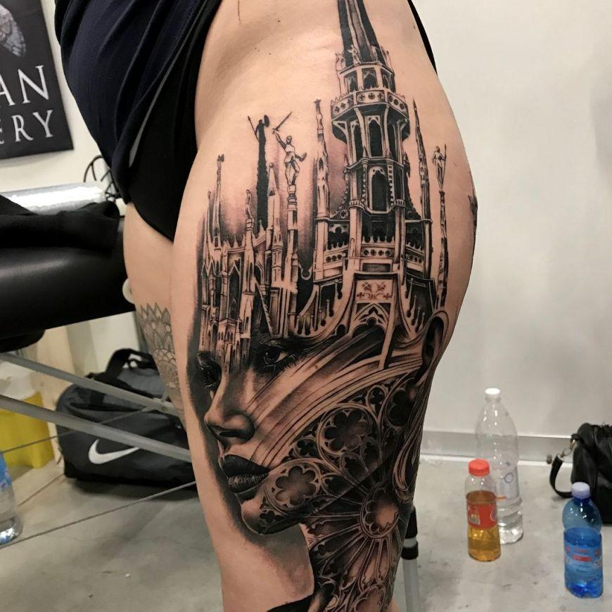 mash-up tattoo Tony Mancia