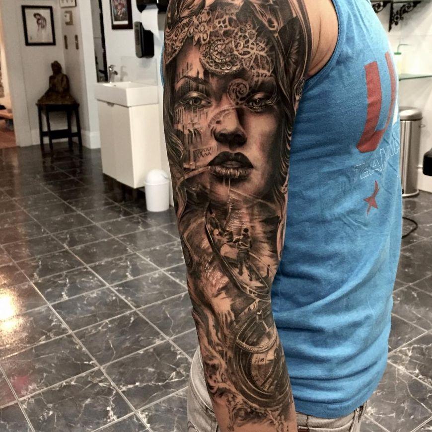 sleeve by Tony Mancia
