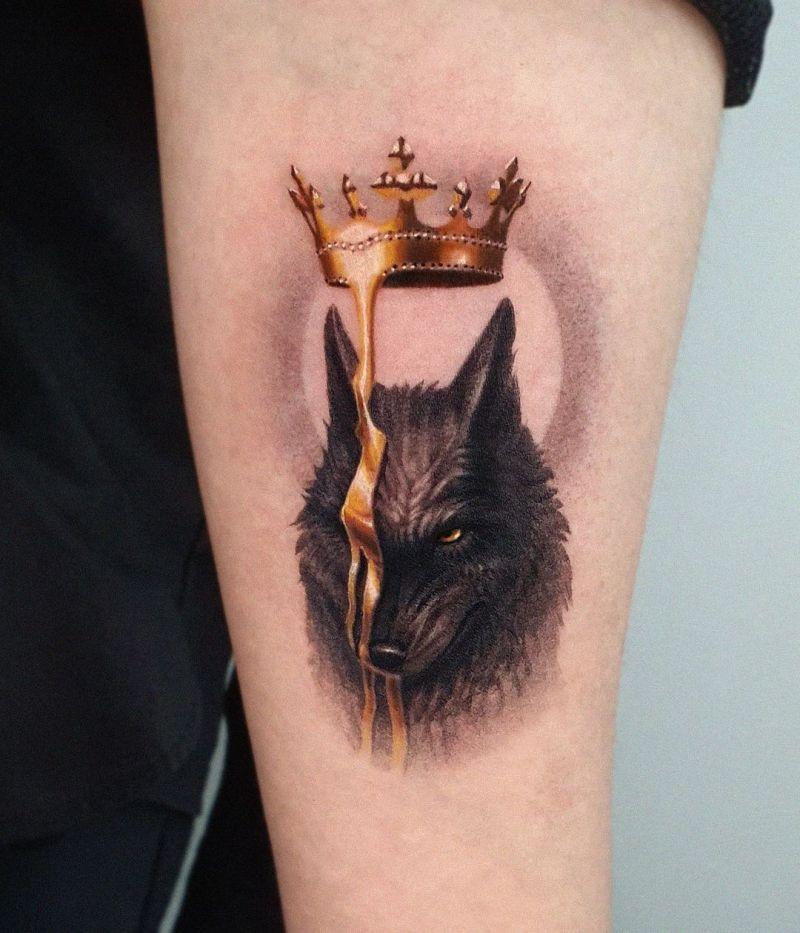cool wolf tattoo ideas