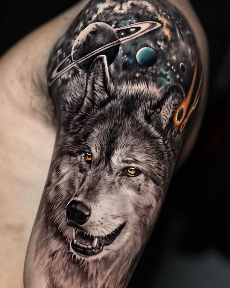 jaw-dropping wolf tattoos