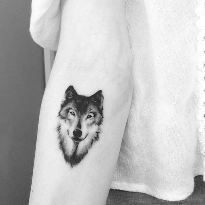 22 Small Wolf Women Tattoo Ideas: 50 Of The Most Beautiful Wolf Tattoo Designs The Internet