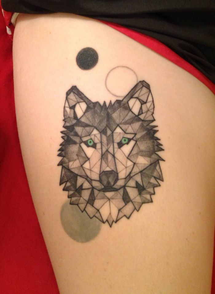 50 Of The Most Beautiful Wolf Tattoo Designs The Internet ...