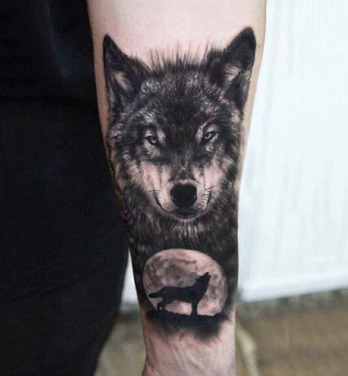 wolf hyper-realistic tattoo (40)