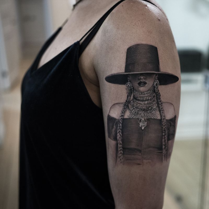 realistic tattoo Niki Norberg