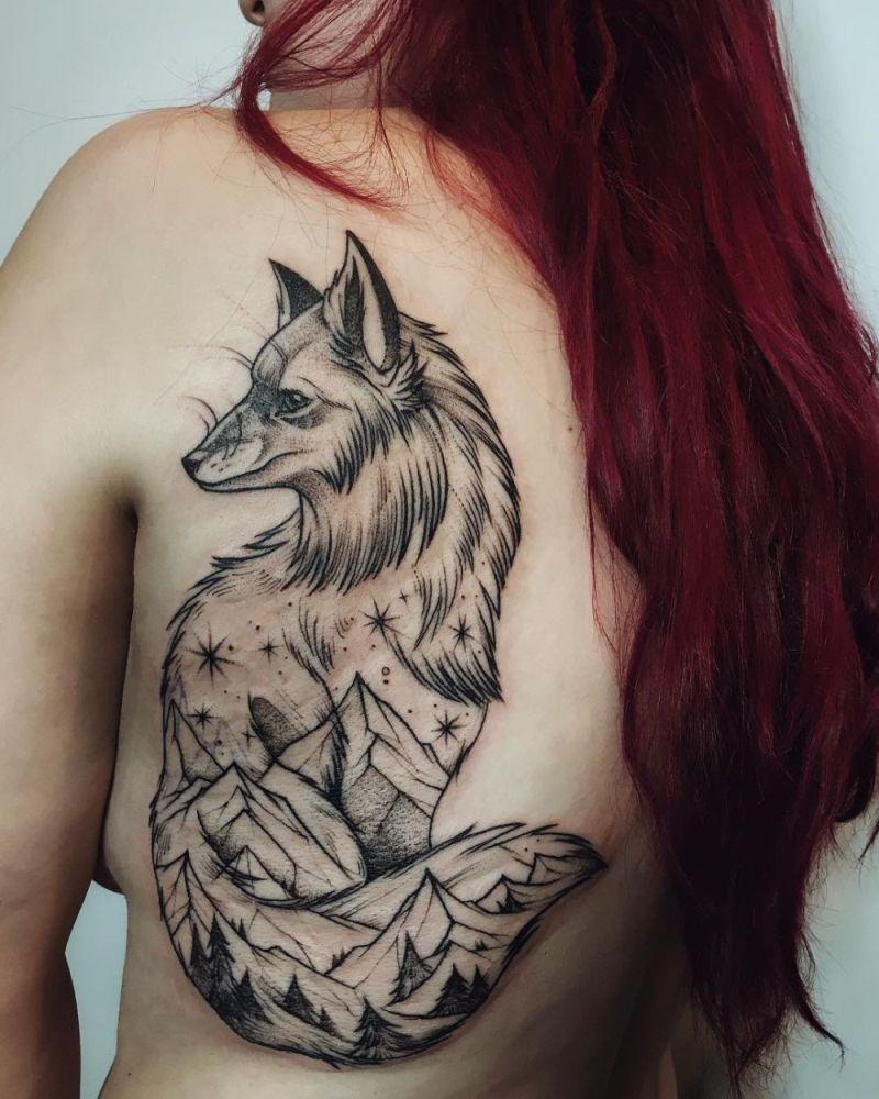 double exposure tattoos