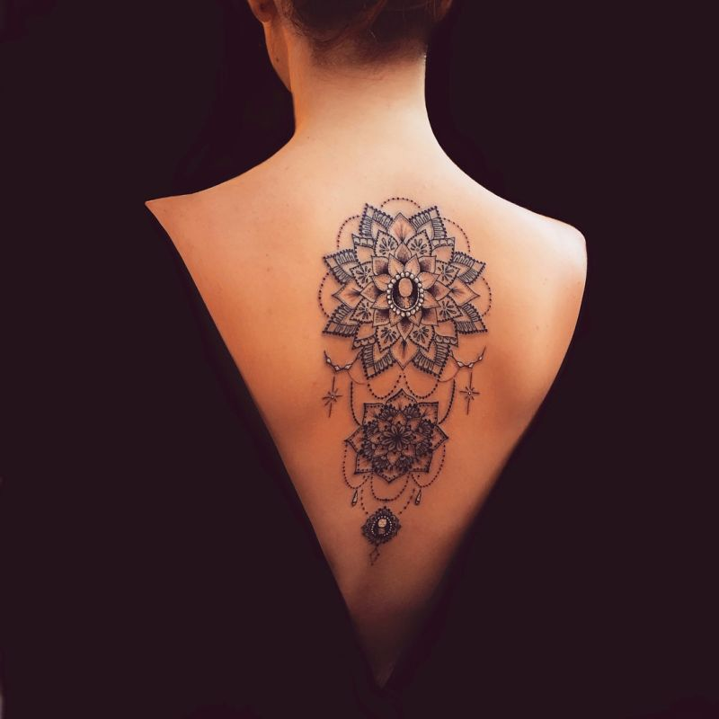 beautiful mandala tattoos