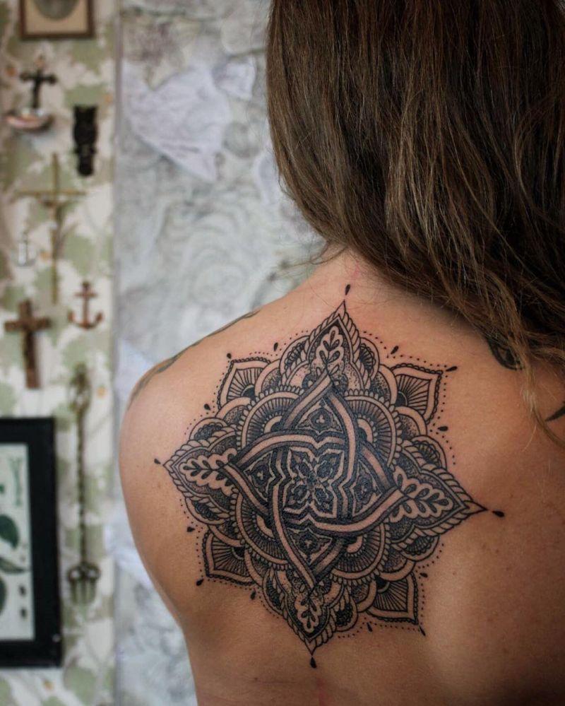 beautiful mandala tattoo ideas
