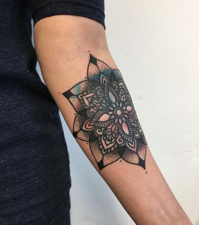 beautiful mandala tattoo designs