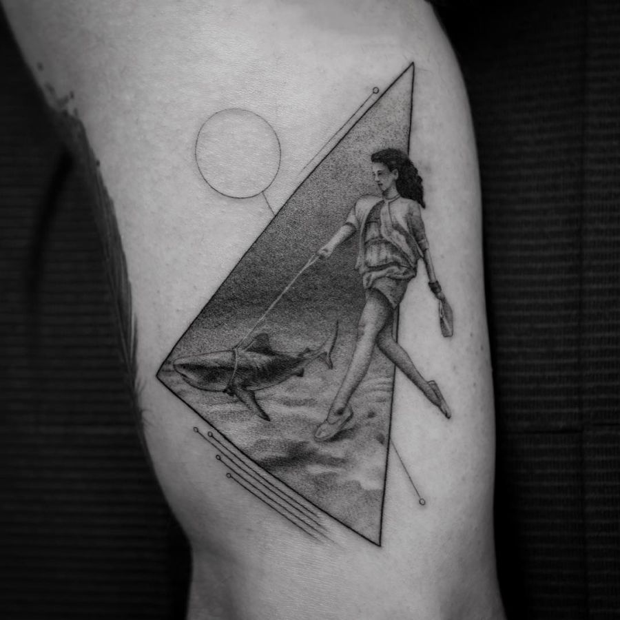 Click Through The Image Gallery Below To Get Acquainted With These Out Of This World Realistic Fine Line Tattoos By Balazs Bercsenyi And Make Sure Follow