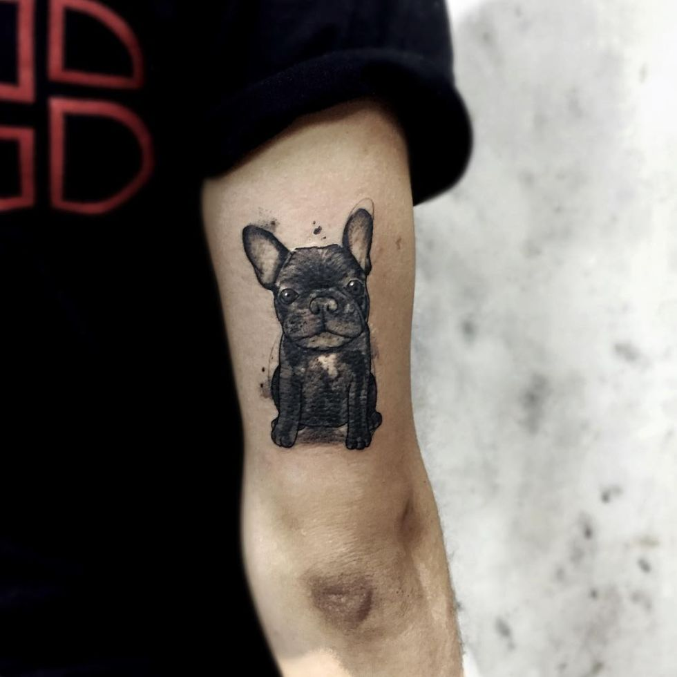 Sketchy Tattoos By Felipe Mello