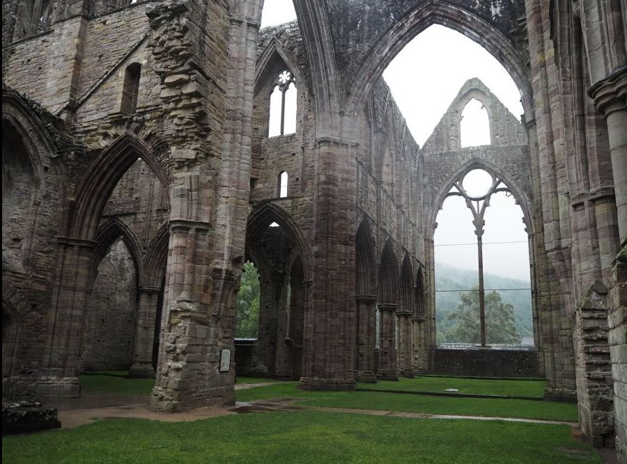 Natures role in tintern abbey