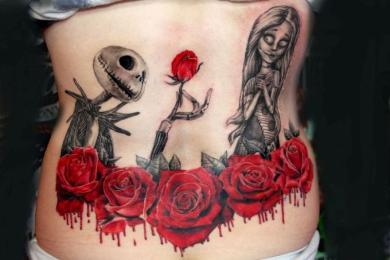 Feed your ink addiction with 50 of the most beautiful rose for Bloody ink tattoo price