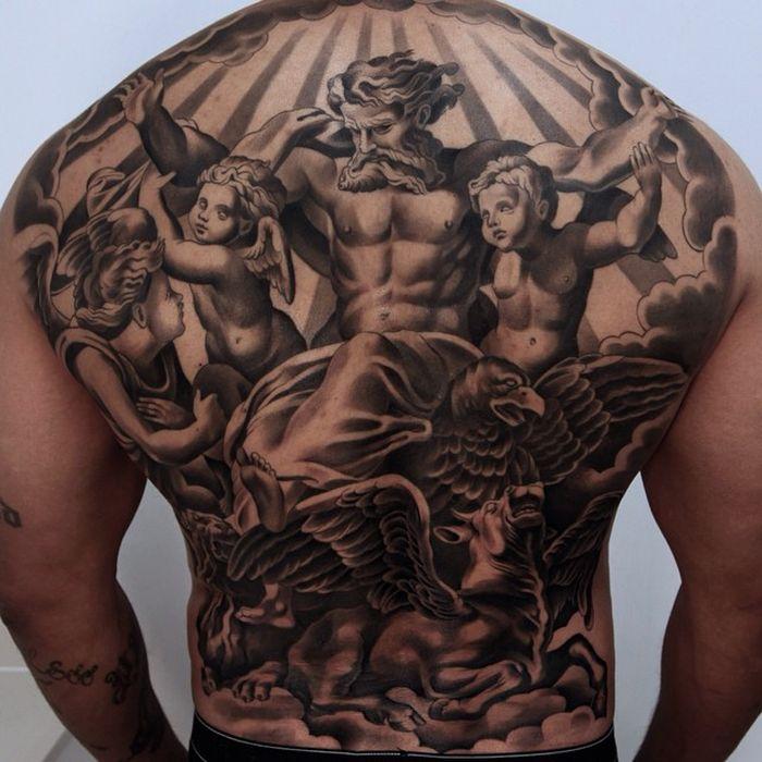 Jun Cha Creates Beautiful Hyper Realistic Tattoos That