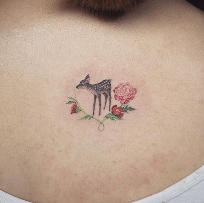 0626ff2f6e431 Check out some of our favorite minimalist animal tattoos below. There's  plenty of ideas here to inspire your very own minimalist tattoo (that might  be one ...