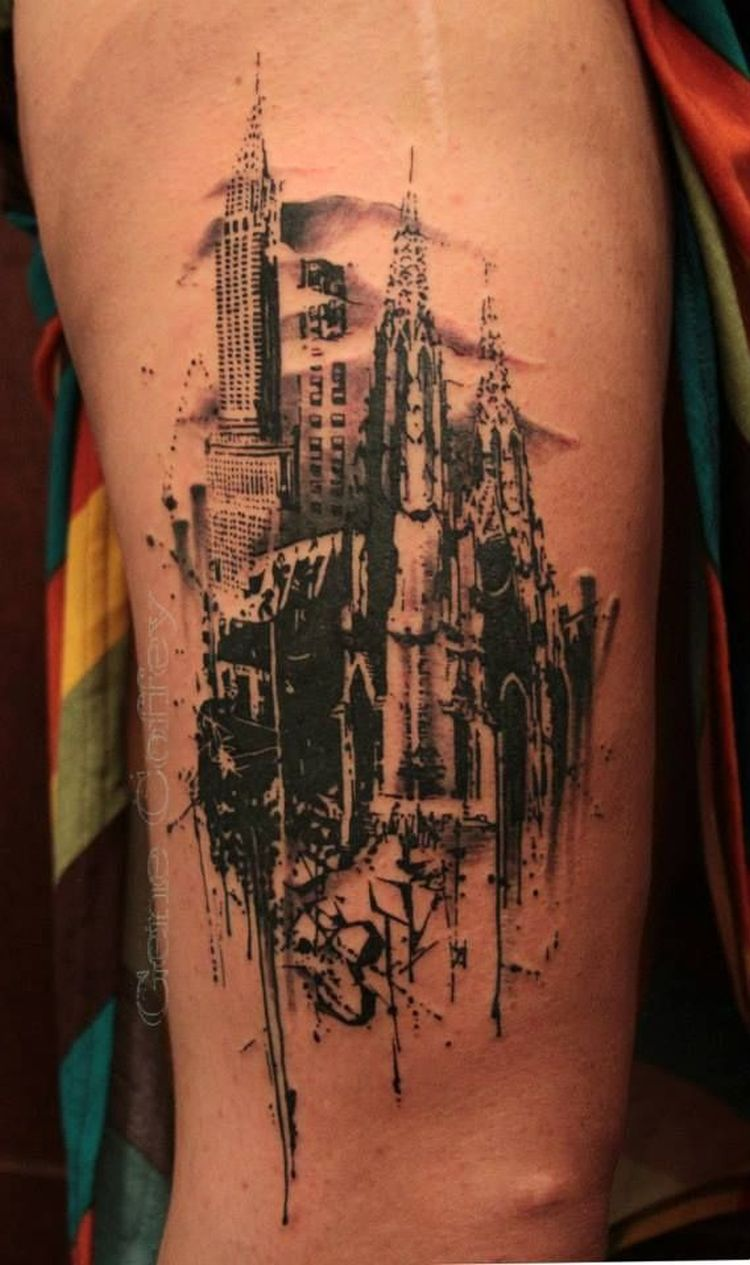 35 Of The Best Architecture Tattoos Or How To Have Your