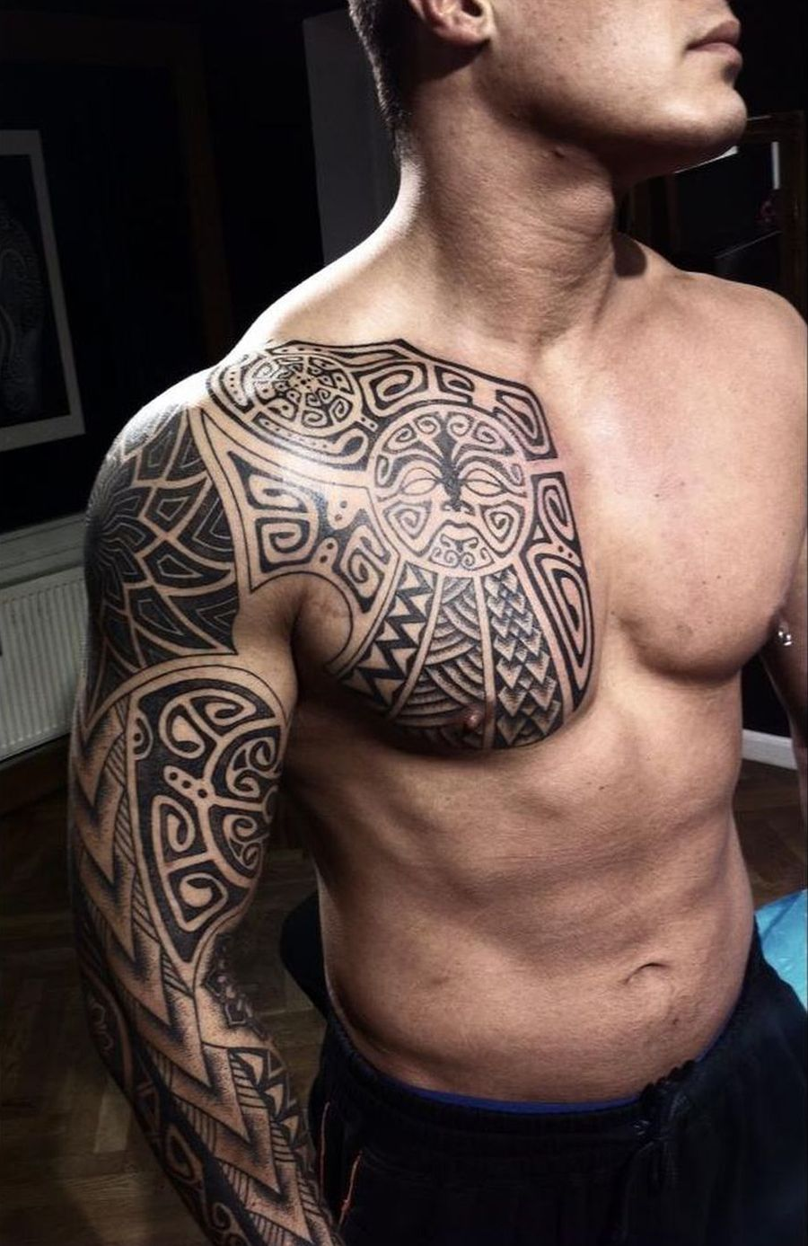 Vikings tattoos by Peter Walrus Madsen, a Mash-Up of