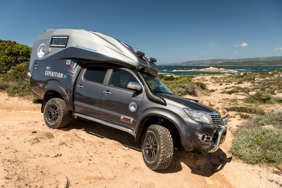 The Perfect Off Road Camper Toyota Hilux Expedition V1 Kickass