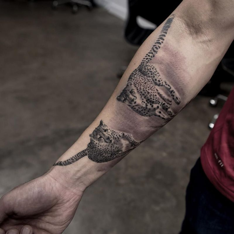 Black & Grey Realistic Tattoos