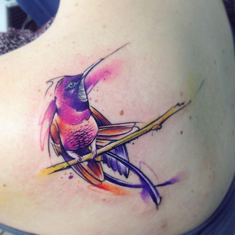 best watercolor tattoo artists - Adrian Bascur (20) - KickAss Things