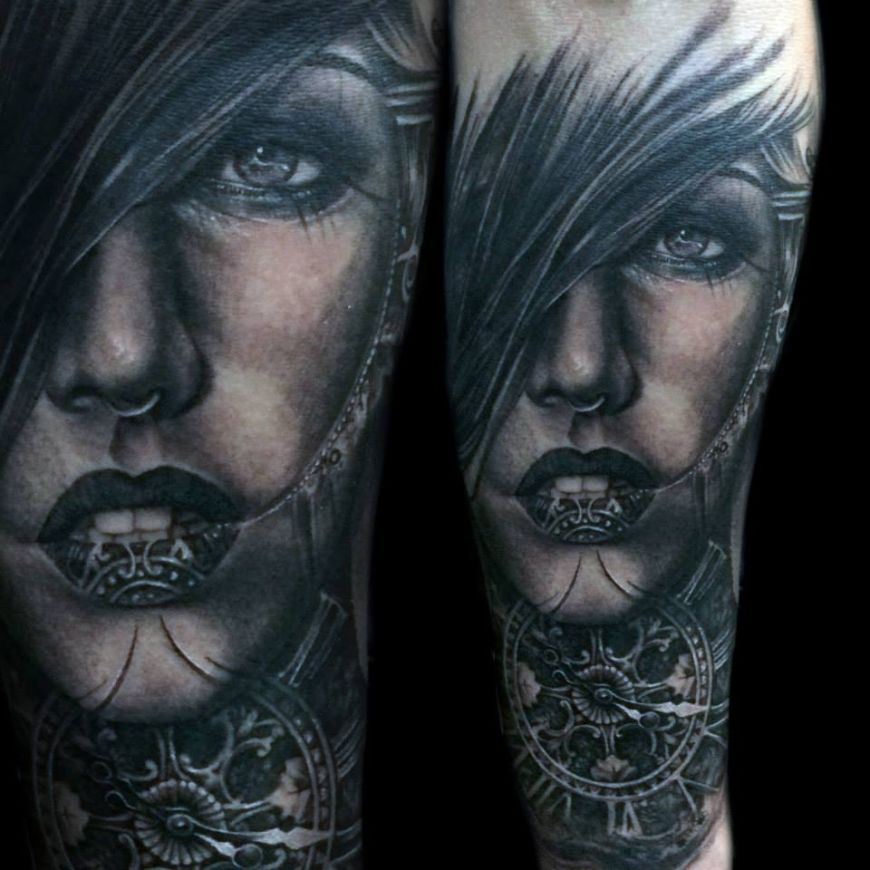 Tony Mancia\'s Tattoos, Striking Realistic and Surrealistic Ink ...