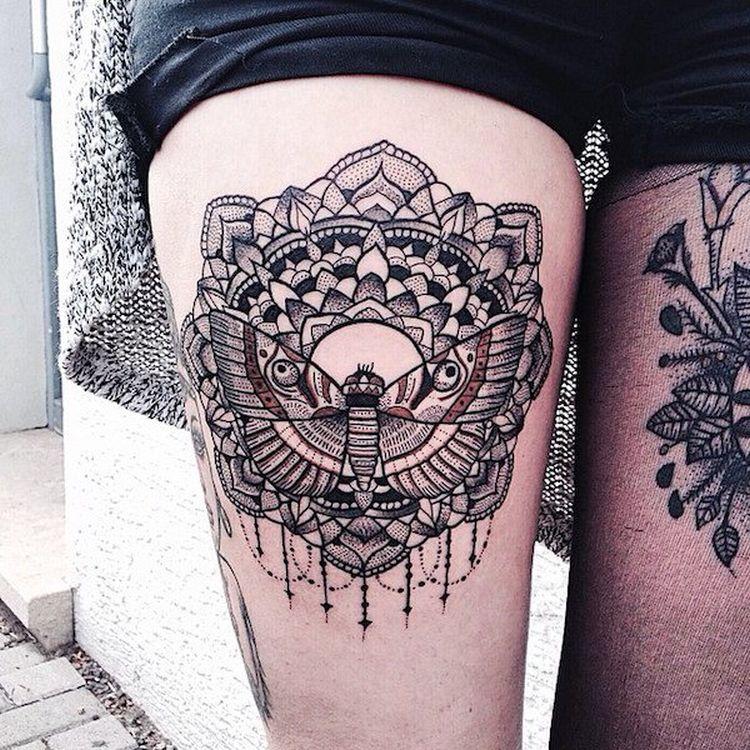 crazy mandala tattoo design - KickAss Things
