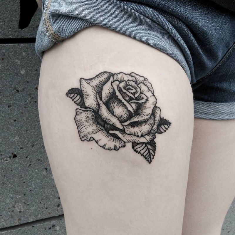 50 Of The Most Beautiful Wolf Tattoo Designs The Internet: Feed Your Ink Addiction With 50 Of The Most Beautiful Rose