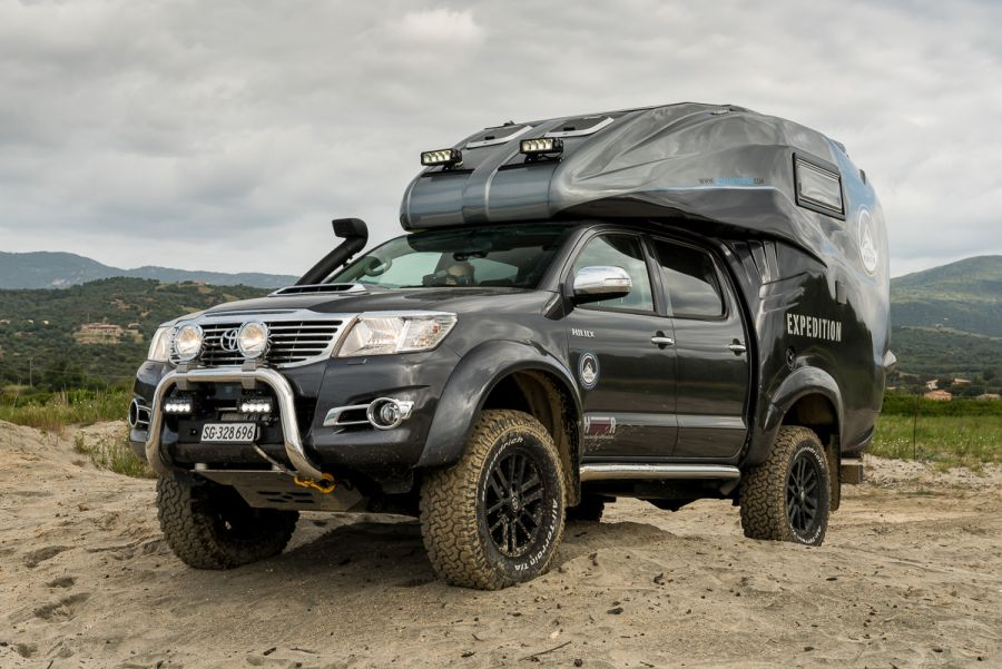 The Perfect Off Road Camper Toyota Hilux Expedition V1