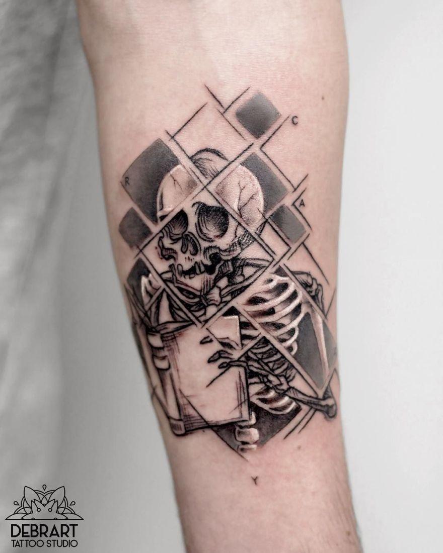 black work ink piece