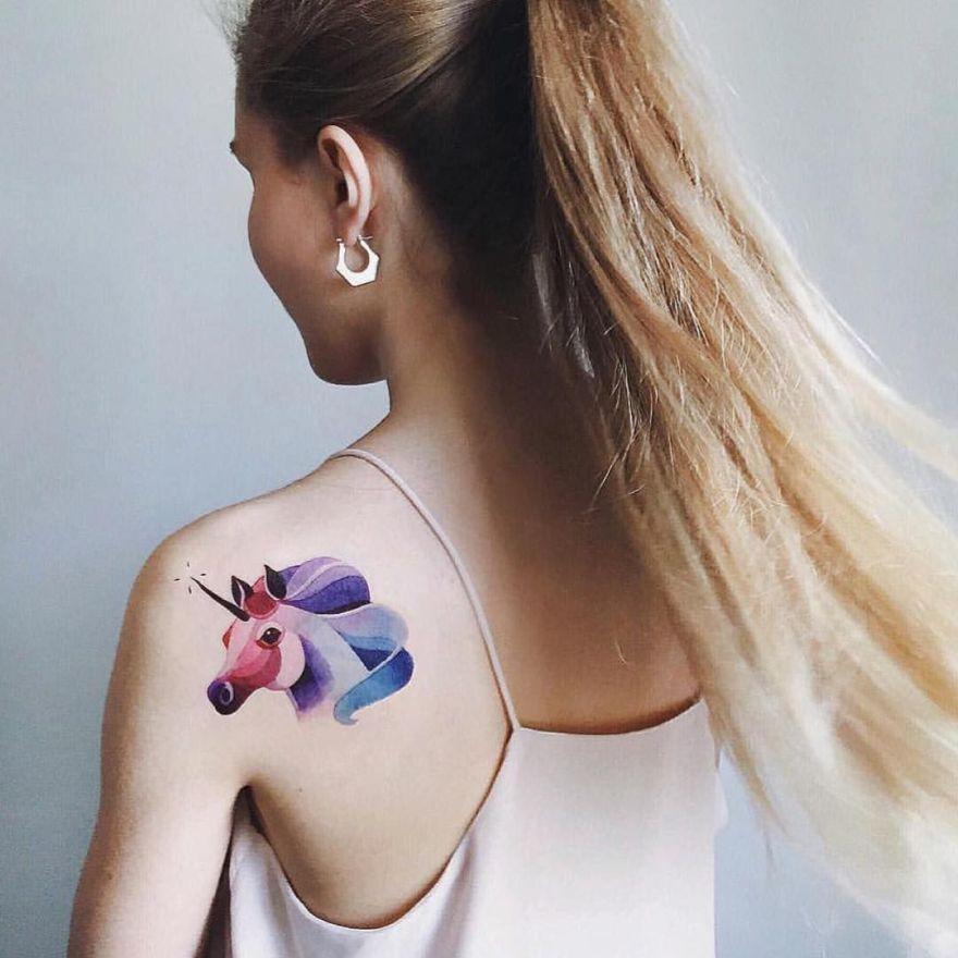 temporary tattoo by Sasha Unisex