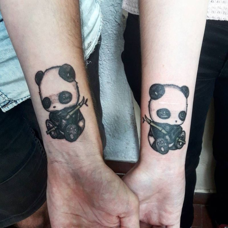 Ink your love with these creative couple tattoos kickass for Matching tattoos for couples in love