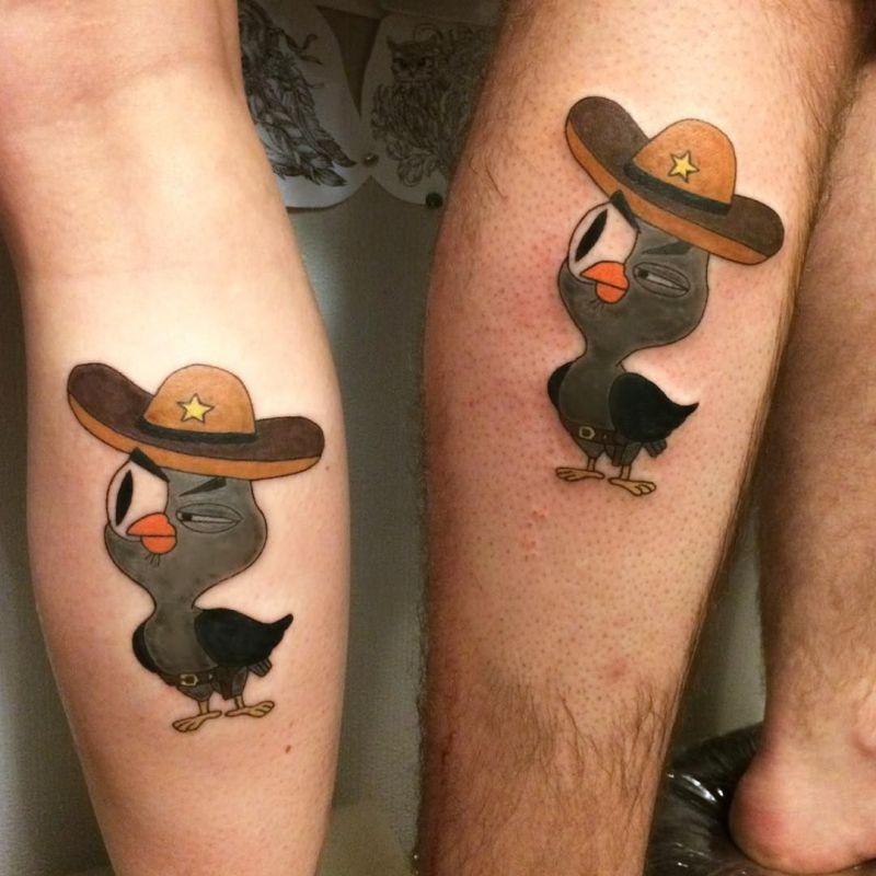 creative couple tattoos