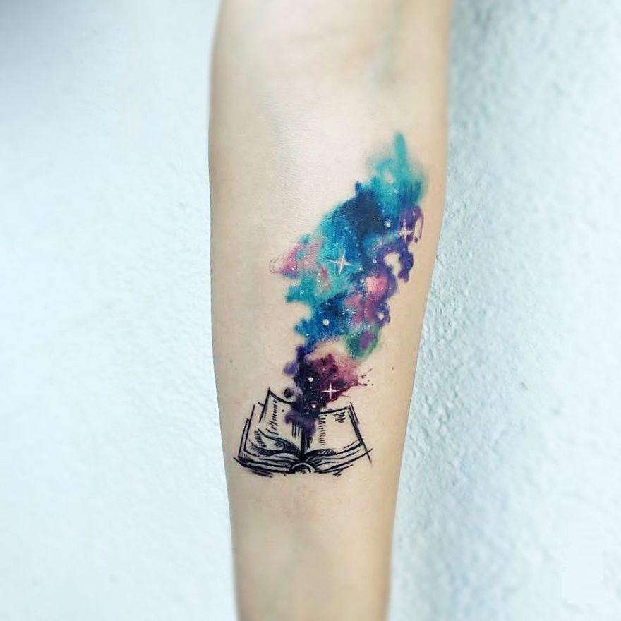 Awe inspiring book tattoos for literature lovers kickass for Things tattoo artists love