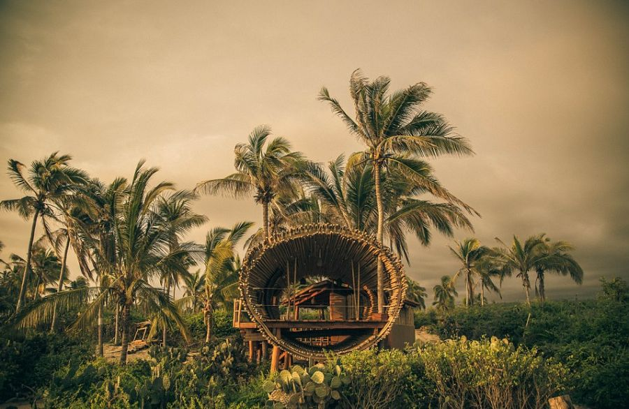 magical tree-house hotel