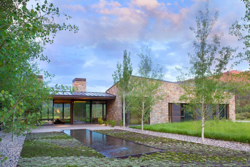 beautiful contemporary house
