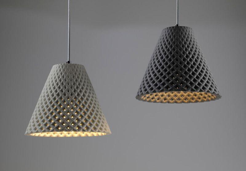 concrete lighting ideas