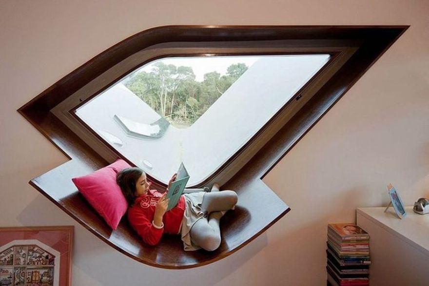 contemporary window seat