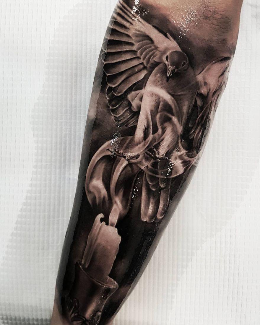 tattoos by Benji Roketlauncha